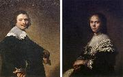 VERSPRONCK, Jan Cornelisz Portrait of a Man and Portrait of a Woman  wer oil painting artist